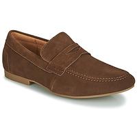 Zapatos Hombre Mocasín André TONI Marrón