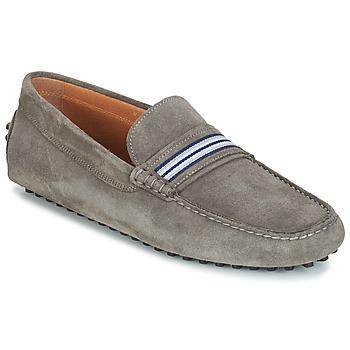 Zapatos Hombre Mocasín André PITCHOU Gris