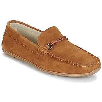 Zapatos Hombre Mocasín André TRISSOT Camel