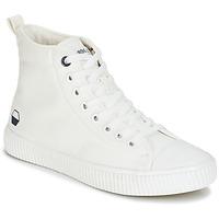 Zapatos Hombre Zapatillas altas André SUBWAY Blanco