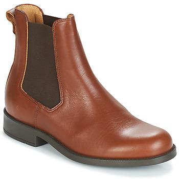 Zapatos Mujer Botas de caña baja Aigle ORZAC W 2 Cognac