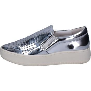 Zapatos Mujer Slip on Uma Parker slip on plata cuero BT564 plata