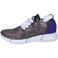 Zapatos Mujer Zapatillas bajas Elena Iachi sneakers multicolor glitter BT587 Multicolre