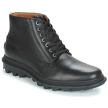Zapatos Hombre Botas de caña baja Sorel ACE™ CHUKKA WATERPROOF Negro