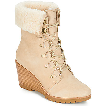 Zapatos Mujer Botas de nieve Sorel AFTER HOURS™ LACE SHEARLING Beige