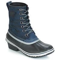 Zapatos Mujer Botas de nieve Sorel SLIMPACK™ 1964 Azul / Negro