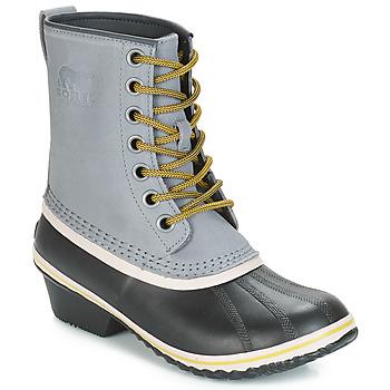 Zapatos Mujer Botas de nieve Sorel SLIMPACK 1964 Gris / Negro