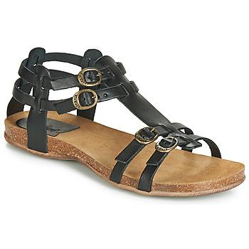 Zapatos Mujer Sandalias Kickers ANA Negro