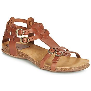 ba3b26e6952 Zapatos Mujer Sandalias Kickers ANA Marrón