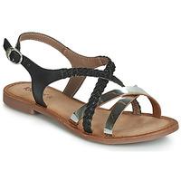 Zapatos Mujer Sandalias Kickers ETHY Negro