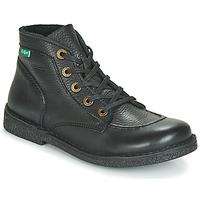 Zapatos Mujer Botas de caña baja Kickers LEGENDIKNEW Negro / Permanente
