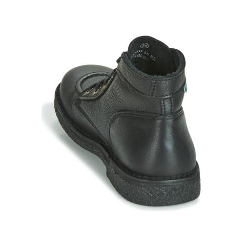Negro Caña Botas Mujer Baja De cFKJl1