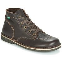 Zapatos Mujer Botas de caña baja Kickers LEGENDIKNEW Marrón