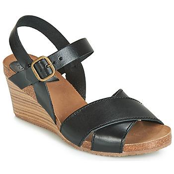 Zapatos Mujer Sandalias Kickers SALAMBO Negro