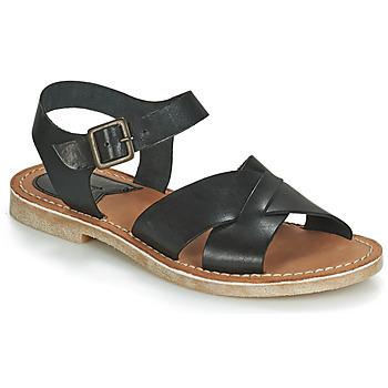 Zapatos Mujer Sandalias Kickers TILLY Negro