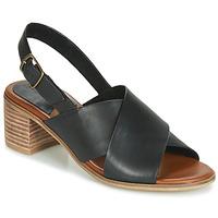 Zapatos Mujer Sandalias Kickers VICTORIANE Negro