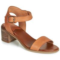 Zapatos Mujer Sandalias Kickers VOLOU Camel