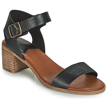 Zapatos Mujer Sandalias Kickers VOLOU Negro