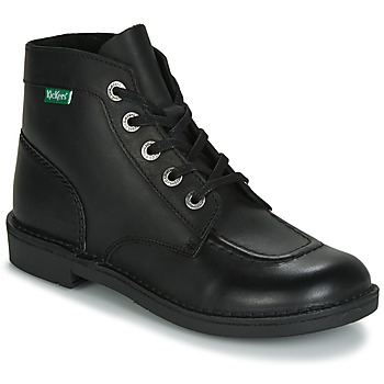 Zapatos Mujer Botas de caña baja Kickers KICK COL Negro