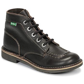 Zapatos Mujer Botas de caña baja Kickers KICK COL Marrón