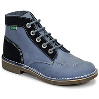 Zapatos Mujer Botas de caña baja Kickers KICK COL Azul