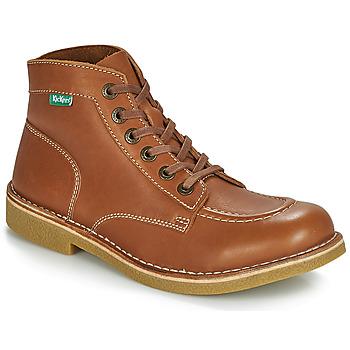 Zapatos Hombre Botas de caña baja Kickers KICKSTONER Camel