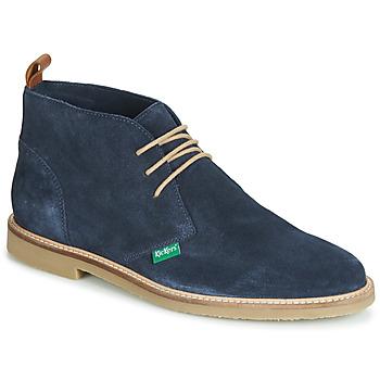 Zapatos Hombre Botas de caña baja Kickers TYL Marino