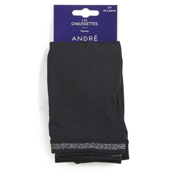 Accesorios textil Mujer Calcetines André MARGUERITE Negro