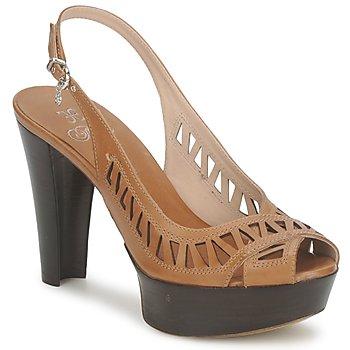 Zapatos Mujer Sandalias Fabi CALECHE Marrón