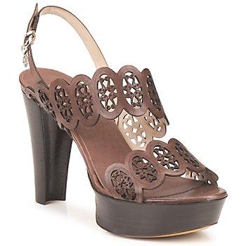Zapatos Mujer Sandalias Fabi PANAMA Marrón