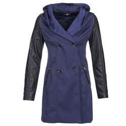 textil Mujer trench Betty London CAMILLE Marino
