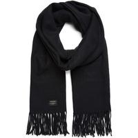 Accesorios textil Bufanda Jack & Jones 12140332 JACSOLID WOVEN SCARF NOOS BLACK Negro