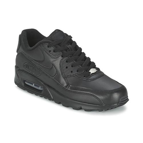 8c5ed83d7ad32 Nike AIR MAX 90 Negro - Envío gratis con Spartoo.es ! - Zapatos ...