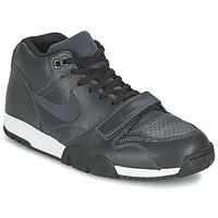 Zapatos Hombre Zapatillas bajas Nike AIR TRAINER 1 MID Negro