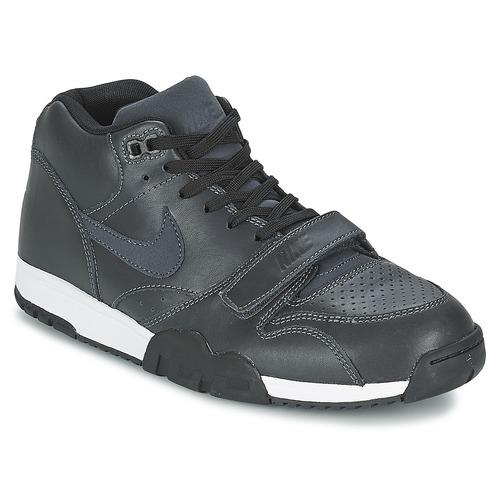 Zapatos especiales para hombres y mujeres Nike AIR TRAINER 1 MID Negro