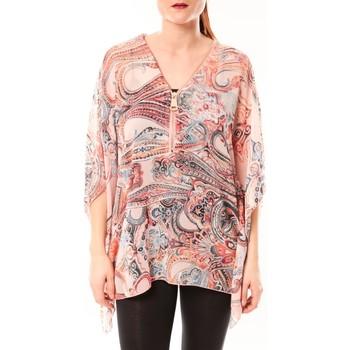 textil Mujer Camisas De Fil En Aiguille TuniqueLove Look 1218 Rose Rosa
