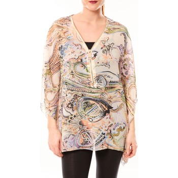 textil Mujer Túnicas De Fil En Aiguille Tunique Love Look 1218 Jaune Amarillo