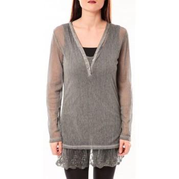 textil Mujer Túnicas Tcqb Tunique Nuova Stella Gris Gris