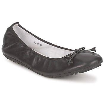 Zapatos Mujer Bailarinas-manoletinas Mac Douglas ELIANE Negro