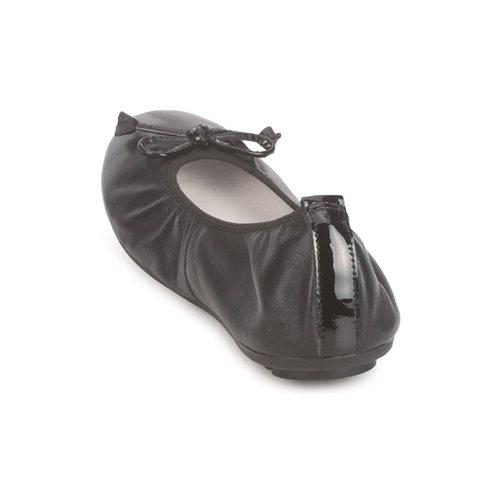 Negro Zapatos Mac Douglas Eliane manoletinas Bailarinas Mujer EH2DI9