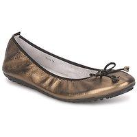 Zapatos Mujer Bailarinas-manoletinas Mac Douglas ELIANE Bronce / Negro / Barniz
