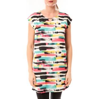 textil Mujer vestidos cortos Little Marcel Robe Romine E15FDRE0209 Blanc Blanco