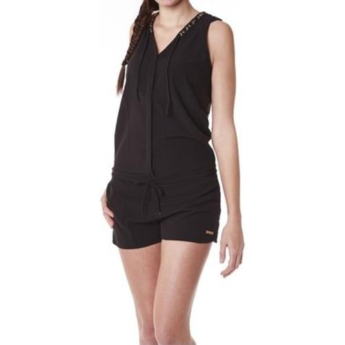 textil Mujer Monos / Petos Little Marcel Combishort Cosbi E15WSHO0203 Noir Negro