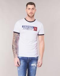 textil Hombre Camisetas manga corta Teddy Smith TOZO Blanco