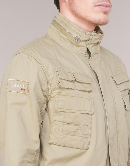 Textil Craig 19 Cazadoras Hombre Schott Beige 5RjL3A4
