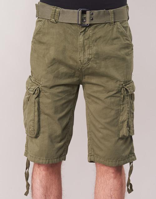Ranger Hombre ShortsBermudas Tr Textil Schott Kaki nwmv80NO