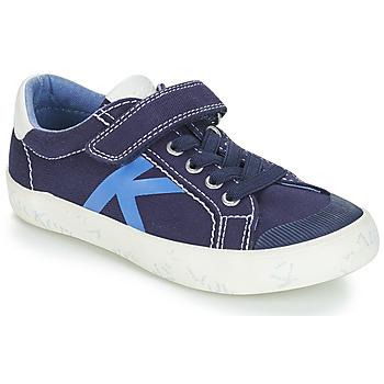 Zapatos Niño Zapatillas bajas Kickers GODY Marino
