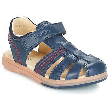 Zapatos Niño Sandalias Kickers PLATINIUM Marino