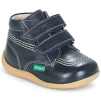 Zapatos Niño Botas de caña baja Kickers BILLY VELK Marino