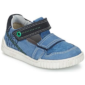 Zapatos Niño Sandalias Kickers WHATSUP Azul